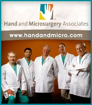 Hand Microsurgery Associates - sponsorship ad